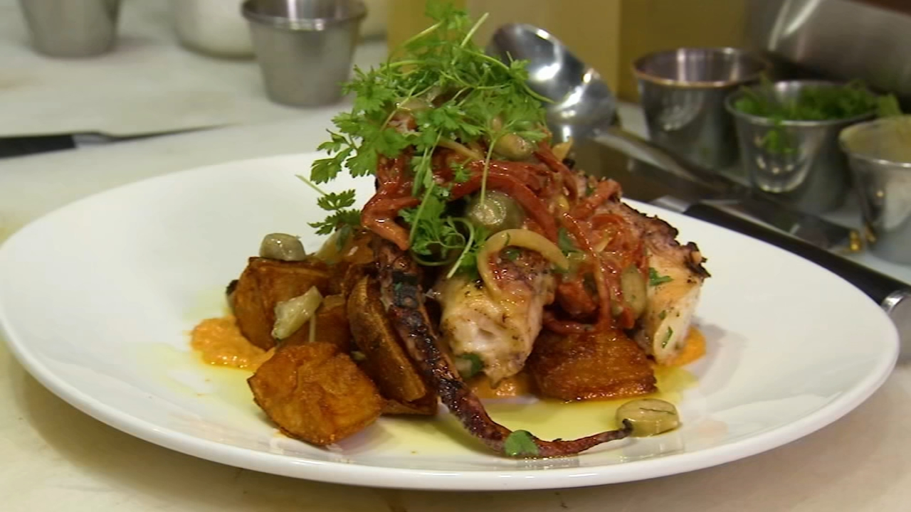 In this weeks 6 Minute Meal, Alicia Vitarelli has the recipe for Seditions Spanish Octopus Salad.