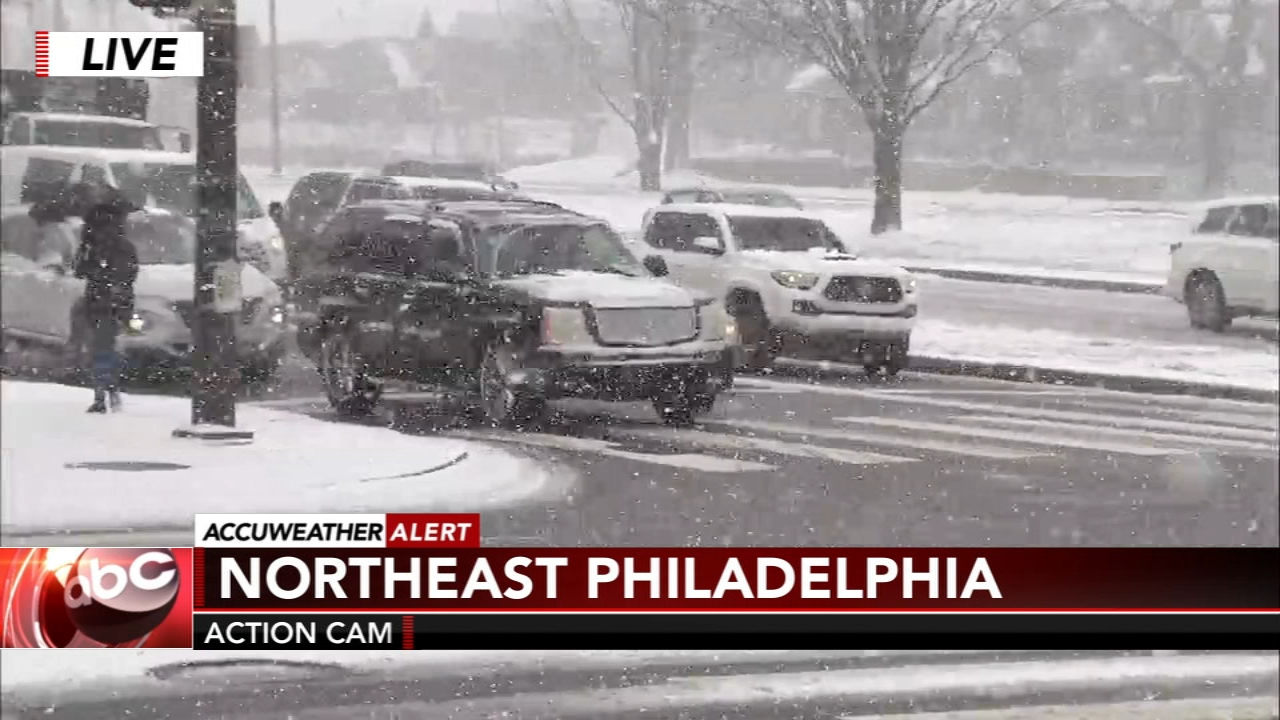 Snow causes closings and modified Amtrak service in Philly. Katherine Scott reports during Action News at 12 p.m. on February 20, 2019.